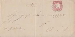 DR Brief EF Minr.19 K1 Bramsche 24.5.72 - Deutschland