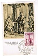 Brussel, Bruxelles, Journée Du Timbre 1957, Maximilien 1er Recevant Une Missive....  (pk52816) - Musées