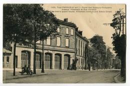 CPA 75 - Tout PARIS - Poste Des Sapeurs Pompiers - Avenue Villemain Et Rue D'Alésia - Arrondissement: 14