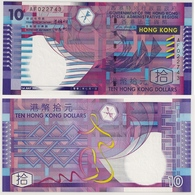 Hong Kong 10 $ 1st July 2002 (UNC-Billet Neuf / New Bank Note) PERFECT ! - Hongkong