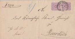 DR Brief Mef Minr.2x 32 K2 Trachenberg 26.9.79 Gel. Nach Rawitsch - Deutschland