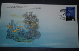 L) 1979 BRITISH VIRGIN ISLANDS, THE COUSTEAU SOCIETY COLLECTION OF STAMPS OF THE SEA, FISH, MARINE LIFE, CONSERVATION, 7 - British Virgin Islands