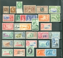 CAYMAN LOT Of 32 Incl. 3 SETS MOSTLY MINT(A FEW MNH) Royals Views Animals Peace Constitution More WYSIWYG  A04s - Cayman Islands