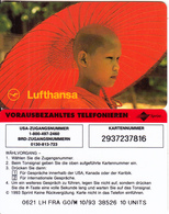 GERMANY - Lufthansa, Sprint Prepaid Card 10 Units, 10/93, Unused - Germany