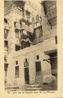 Saudi Arabia, DJEDDAH JEDDAH, Street Scene, Port Of Mecca (1910s) Postcard - Arabie Saoudite