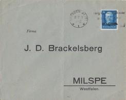 DR Brief EF Minr.405 Dresden 30.12.27 - Deutschland