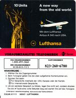 GERMANY - Statue Of Liberty, Lufthansa, Sprint Prepaid Card 10 Units, Unused - Germany