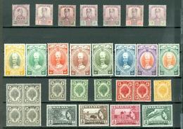 Malaya States LOT Of 29 Oldies Sultans Views More MNH..cat $115 WYSIWYG A04s - Gran Bretaña (antiguas Colonias Y Protectorados)