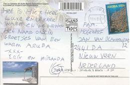 Aruba 2005 Deepwater Sea Fan Coral Viewcard - Curaçao, Nederlandse Antillen, Aruba
