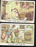 St 004379 Images Sans Doute 1er De La Classe Fables De La Fontaine , La Poule Aux Oeufs D'or , La Belette - Diplômes & Bulletins Scolaires