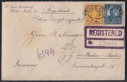 USA R-Brief Aus Wilkes-Barre Gel. Nach Deutschland Ansehen !!!!!!!!!!!!!!! - Vereinigte Staaten