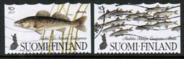 2018 Finland, Norden Fishes M 2585-6, Complete Used Set. - Finnland
