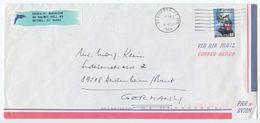 United States 1998 Airmail Cover Stamford CT To Heidenheim Germany, Scott 2998 - United States