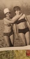 Old Original Photo Lady Woman In Swim Suit 1960s Black Sea - Soviet Beach - Personnes Anonymes