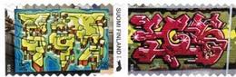 2018 Finland, Graffite Art, Complete Used Set. - Finnland