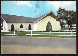 Cpm St004375 Bouar Chapelle Militaire - Centrafricaine (République)