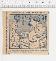 2 Scans Presse 1913 Humour Apprenti Charcutier Charcuterie Boucherie Métier Boucher Andouille  51D3 - Old Paper