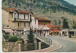 CP - PHOTO - SOSPEL - HOTEL DES ÉTRANGERS - RESTAURANT - LES HOTELS - PONT DE LA CONCORDE -COMBIER - Sospel