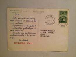 CARTE POSTALE FINLAND-HELSINKI-MILLE AN APRES LES VIKINGS -PUBLICITE IONYL-1957 - Finland