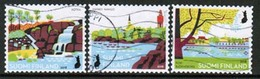 2018 Finland, National Urban Parks, Complete Used Set. - Finnland