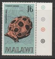 Malawi 1970 Insects Of Malawi 1/6 Sh Multicoloured SW 125 ** MNH - Malawi (1964-...)