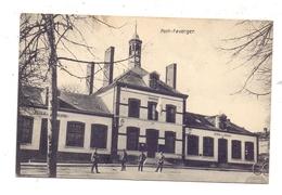 F 51490 PONTFAVERGER, Mairie Et Ecoles / Deutsches Lazarett, Deutsche Feldpost - Reims