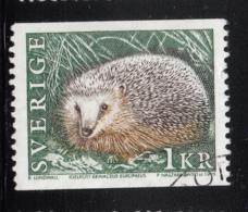 Sweden 1996 Used Sc #1926 1k Erinaceus Europaeus Hedgehog - Suède