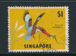 SINGAPORE, 1966 $1 Wmk Sideways Fine Used, Cat £9 - Singapore (1959-...)