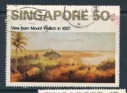 SINGAPORE, 1971 Painting 50c Fine Used, Cat £14 - Singapore (1959-...)