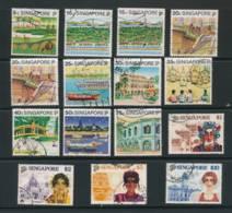SINGAPORE, 1990 Tourism Set  Complete  To $10 Fine Used, Cat £21 - Singapore (1959-...)
