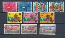 SINGAPORE, 1962-67, 4 Sets, Cat £8 - Singapore (1959-...)