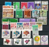 SINGAPORE, 1972-80s  Selection - Singapore (1959-...)