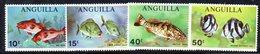 W1504 - ANGUILLA 1969 , Serie Yvert N. 52/55   ***   MNH  Pesci - Anguilla (1968-...)