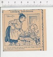 2 Scans Presse 1913 Humour Doigt Dans Le Nez Enfant / Bouche D'Egout Caniveau Fruit Poire Poirier 51D3 - Vieux Papiers