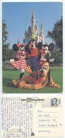 United States 1992 Disney World Postcard To Frankfurt Germany, Scott 2187 - Disneyworld