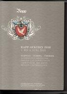 2010 RAPP-AUKTION CATALOGO DI VENDITA (585 PAGINE) - Cataloghi