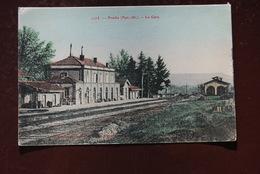 1 CP De 66 PRADES - La Gare - Colorisée - Prades
