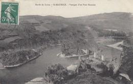 42 - Loire - St-Maurice - Un Beau Panorama Des Vestiges D'un Pont Romain - France