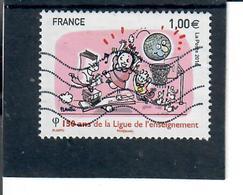 Yt 5072 150 Ans De La Ligue De L'enseignement - France