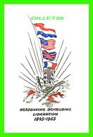 MILITARIA - HERDENKING BEVRIJDING LIBERATION 1945-1955 - - Patriotiques