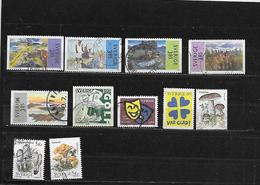 SUEDE 1927 à 1934/1941/1942/1945 Oblitérés Rond - Sweden