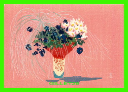ARTS, PEINTURE - MORIBANA-STYLE ARRANGEMENT BY SENEI IKENOBO - T. TOKURIKI - - Peintures & Tableaux