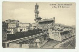GENOVA - CASTELLO MACKENZIE E MURA S.BARTOLOMEO NV FP - Genova (Genua)
