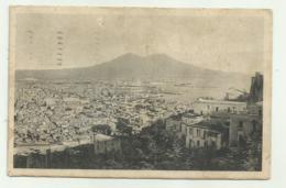 NAPOLI - PANORAMA DA S.MARTINO VIAGGIATA FP - Napoli (Naples)