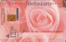 TARJETA TELEFONICA DE ALEMANIA. FLORES. Lo Siento, Estaba .... P07 07.99 (369) - Flores
