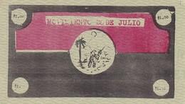 Cuba  1 Peso Movimiento 26 DeJulio  UNC, Very Scarce - Cuba
