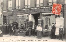 """Chauny- Rue De La Fère- Magasins Du"""" Sabot Rouge"""" - Chauny"""