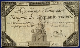 France 50 Livres - ...-1889 Francs Im 19. Jh.