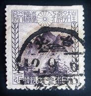 1923 Japon Yt 174, Mi 156 . 1st Visit Of Crown Prince Hirohito To Taiwan . Mt. Niitaka Aka Yushan - Violet - Oblitérés