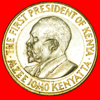 # COCK AND LIONS  (2005-2009): KENYA ★ 10 SHILLINGS 2005 MINT LUSTER! LOW START★NO RESERVE! Mzee Jomo Kenyatta 1964-1978 - Kenya